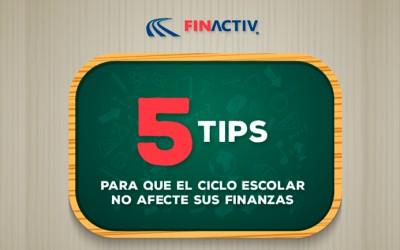 5 tips para que el ciclo escolar no afecte sus finanzas